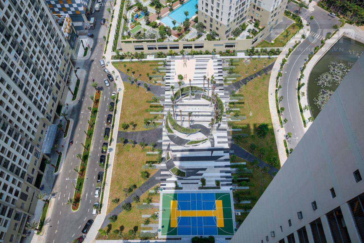 View 2 Căn hộ tầng cao 2 phòng ngủ T4B Masteri Thảo Điền