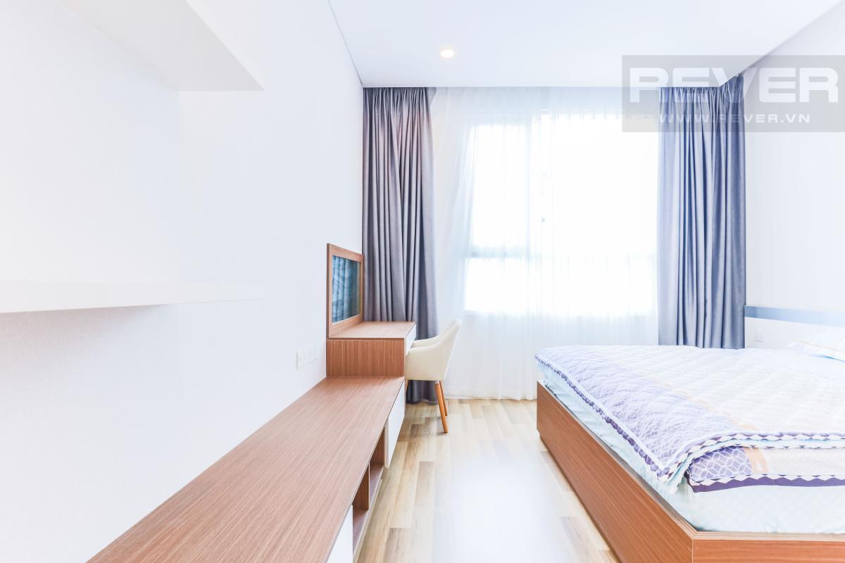 Nội thất phòng ngủ 1 Căn hộ Sarimi Sala Đại Quang Minh hướng Tây và tầng cao tháp B1