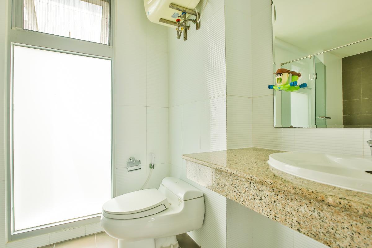 Phòng tắm Căn hộ 3 phòng ngủ tháp 3A Garden Court 1