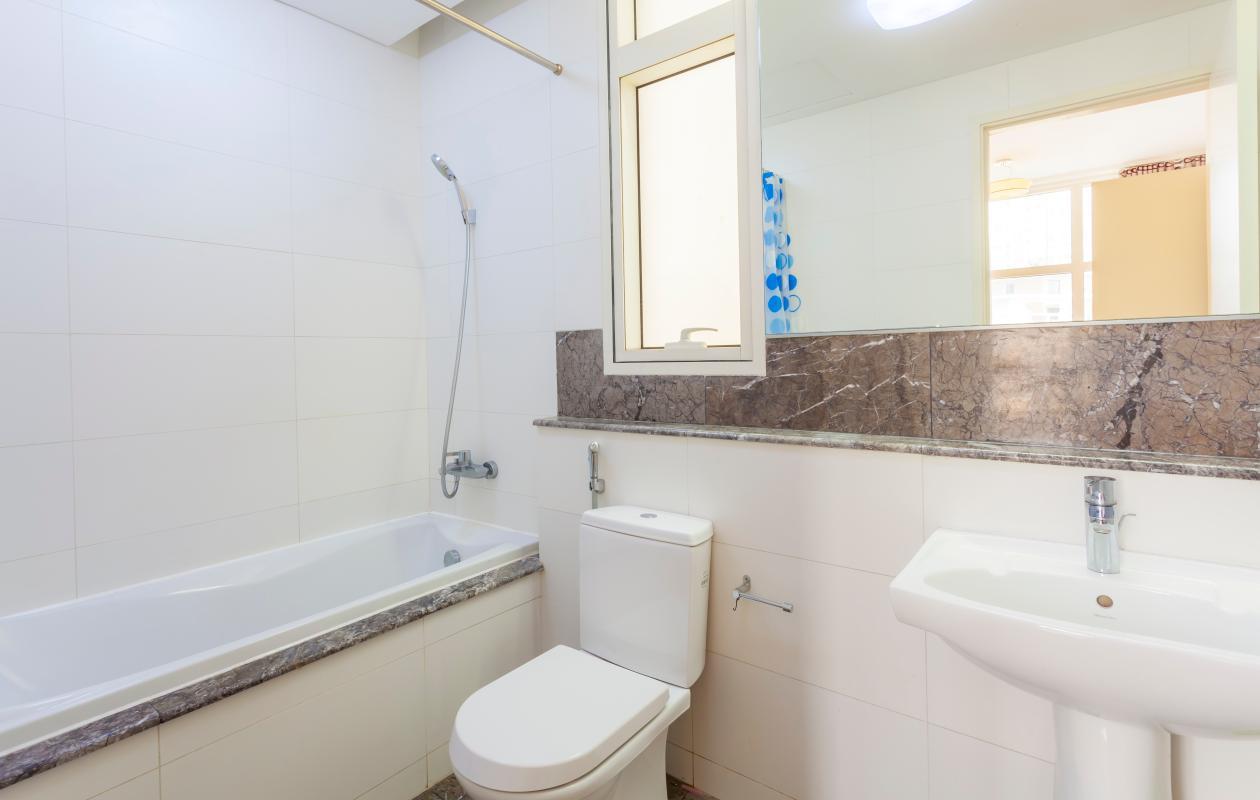 Phòng tắm chính Cho thuê căn hộ tầng cao 3A The Estella An Phú