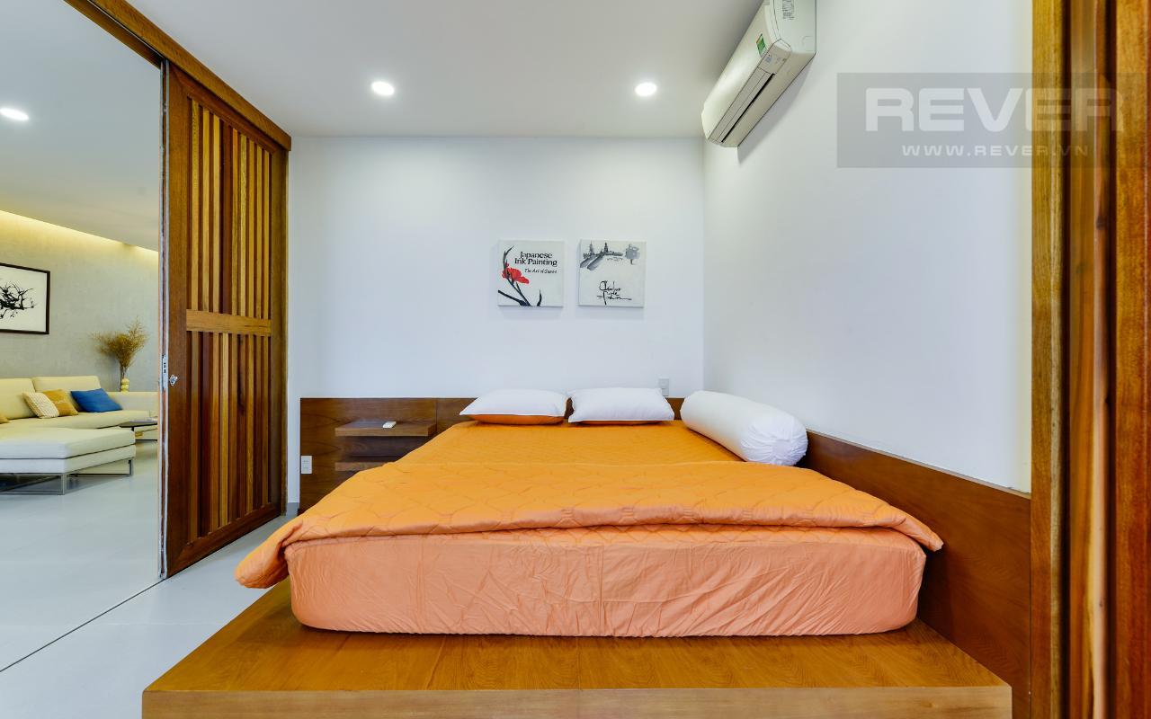 Phòng ngủ ở tầng dưới.jpg Lofthouse tháp M Star Hill Phú Mỹ Hưng