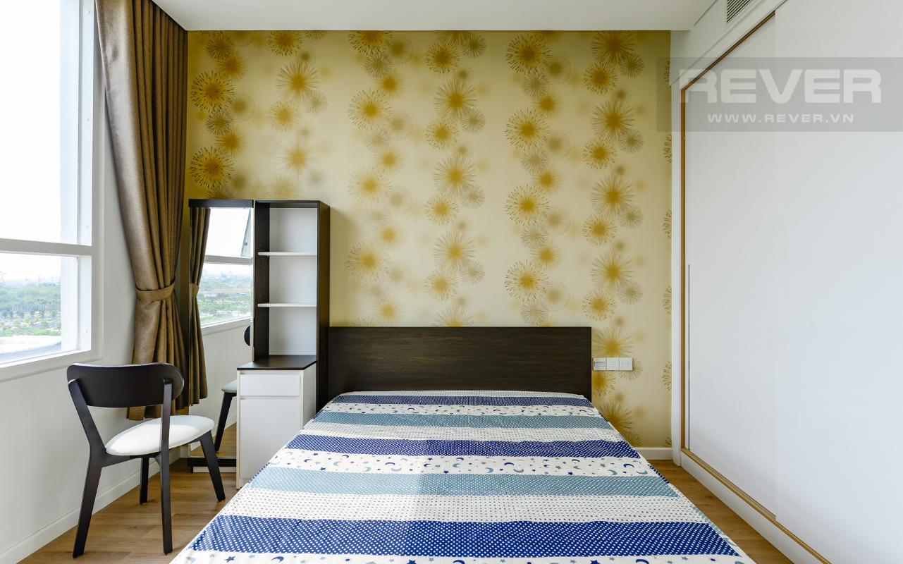 Phòng ngủ 1 với bàn trang điểm Căn hộ Sarimi tầng thấp A2, hướng Đông Bắc nhìn ra công viên