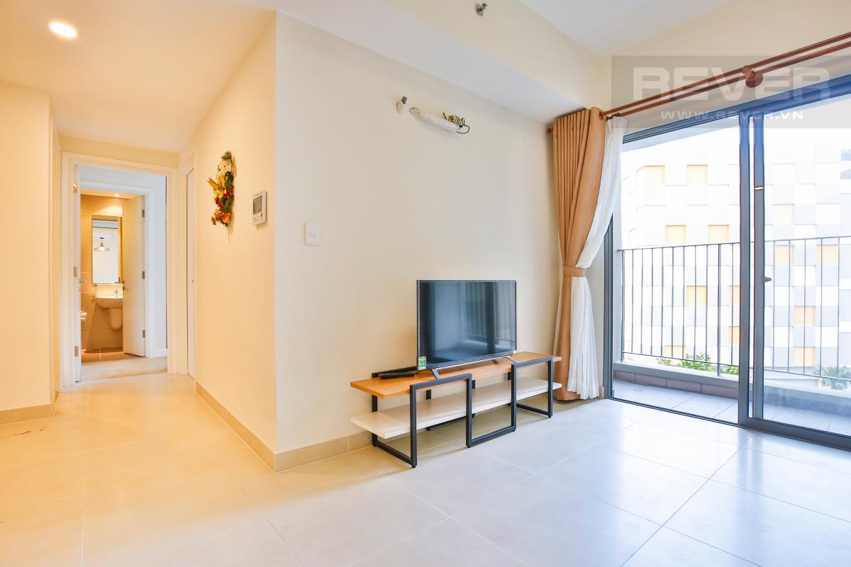 Tủ kệ TV cách điệu Căn hộ 2 phòng ngủ hướng Đông Nam T1A Masteri Thảo Điền