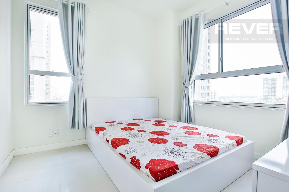 Phòng ngủ góc có tầm nhìn 2 hướng Căn hộ hướng Bắc tầng cao LB Lexington Residence