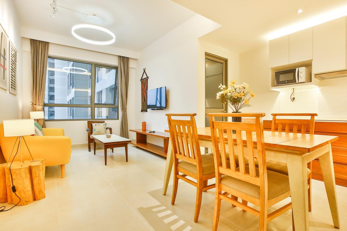 Căn hộ Masteri Thảo Điền 1 phòng ngủ tầng cao tháp T2