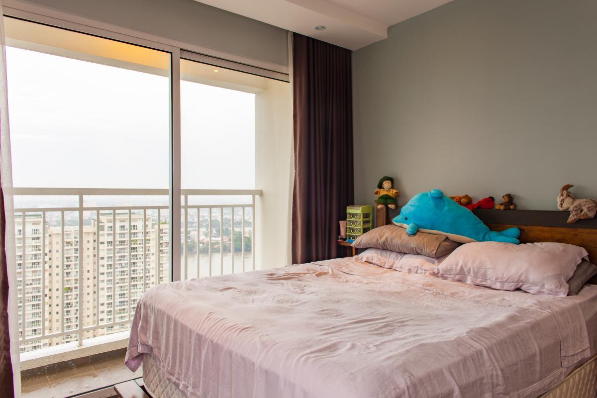 Phòng ngủ chính Căn hộ tầng cao tháp TC1 Tropic Garden