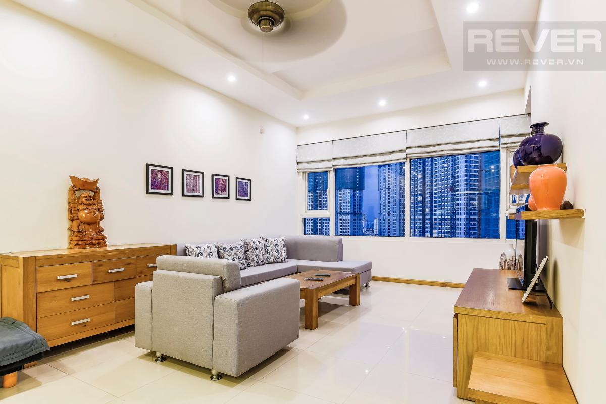 Sofa hiện đại Căn góc tầng cao Topaz 1 Saigon Pearl