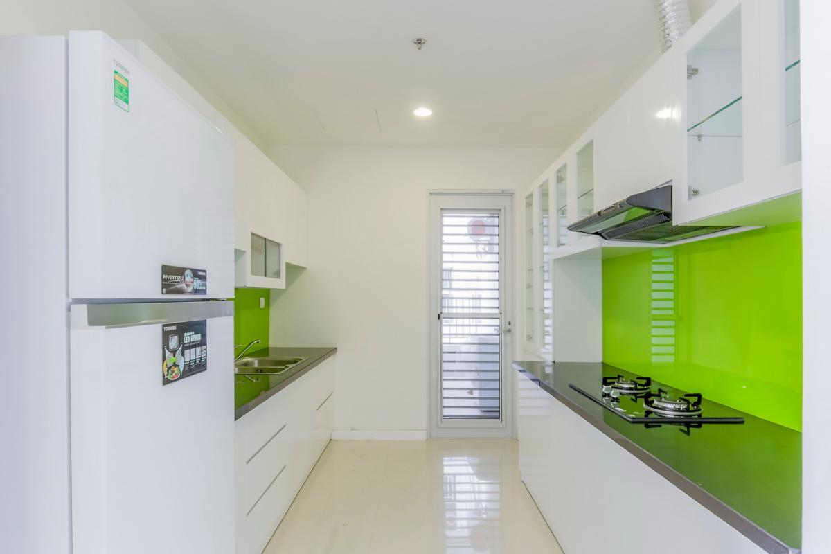 Phòng bếp Căn hộ tầng cao P1 Prince Residence