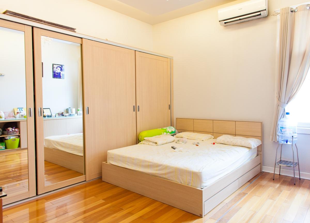 Phòng ngủ Villa 2 tầng đơn lập Mỹ Phú 1A