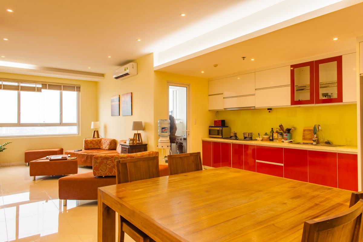 Phòng bếp Căn hộ tầng cao tháp TC1 Tropic Garden