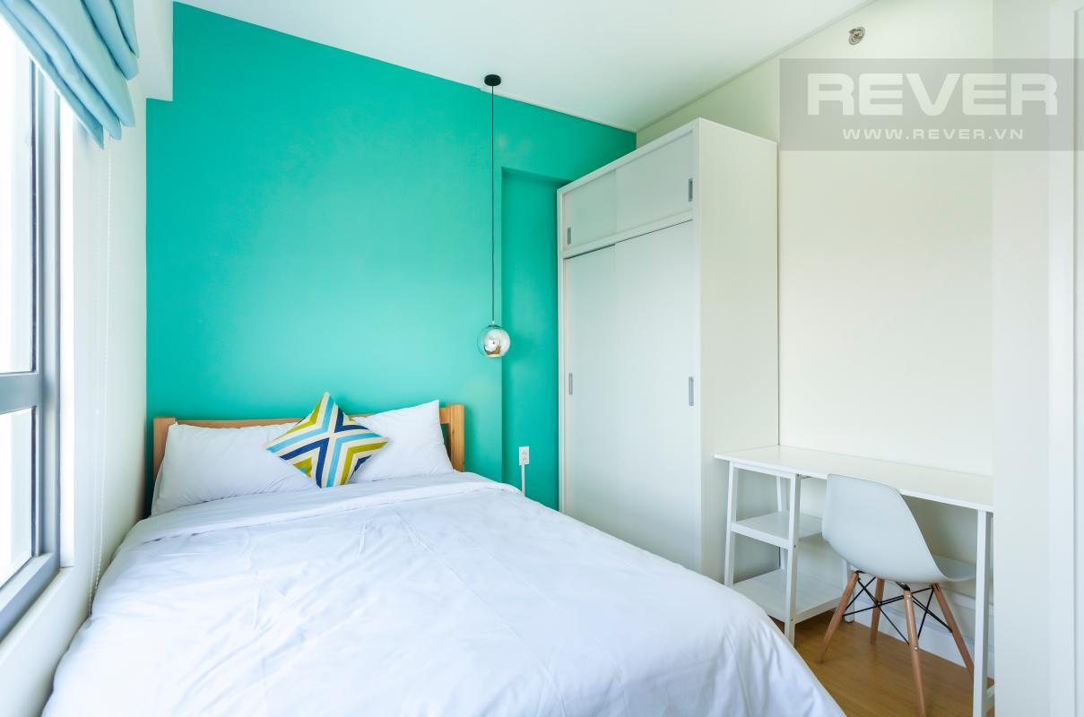 Nội thất phòng ngủ 1 Căn góc hướng Đông Nam tầng cao T3B Masteri Thảo Điền