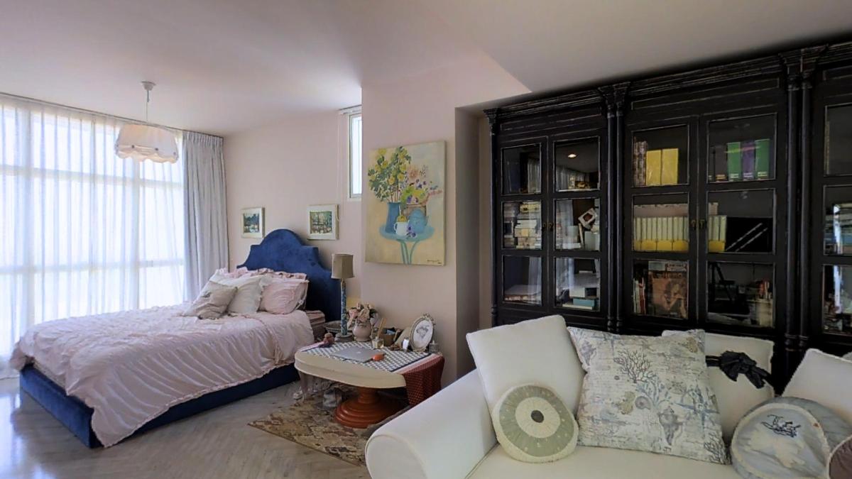 Phòng ngủ rộng rãi Penthouse 4B The Estella An Phú