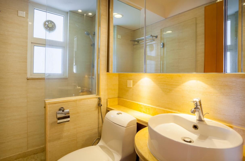 Phòng tắm lớn Căn hộ tầng cao Ruby 2 Sài Gòn Pearl