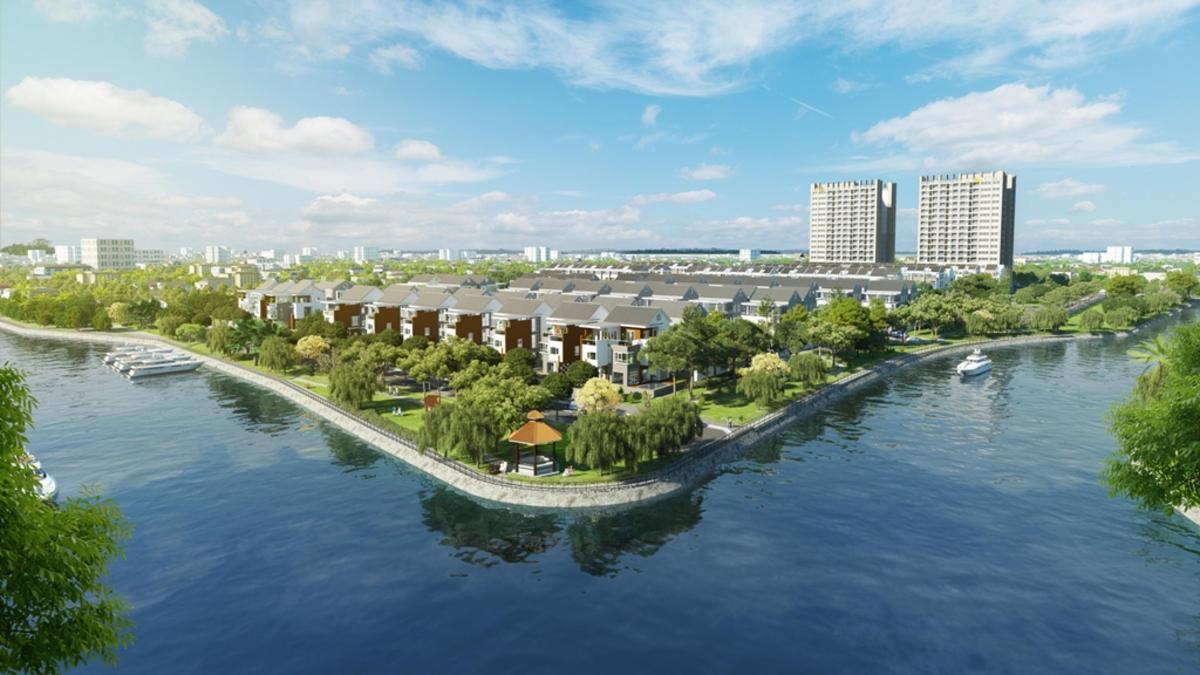 """Những dự án đô thị ven sông """"hot"""" nhất khu Nam Sài Gòn"""