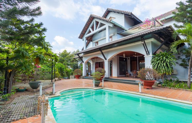 Villa sân vườn hướng Tây Đại học Bách Khoa