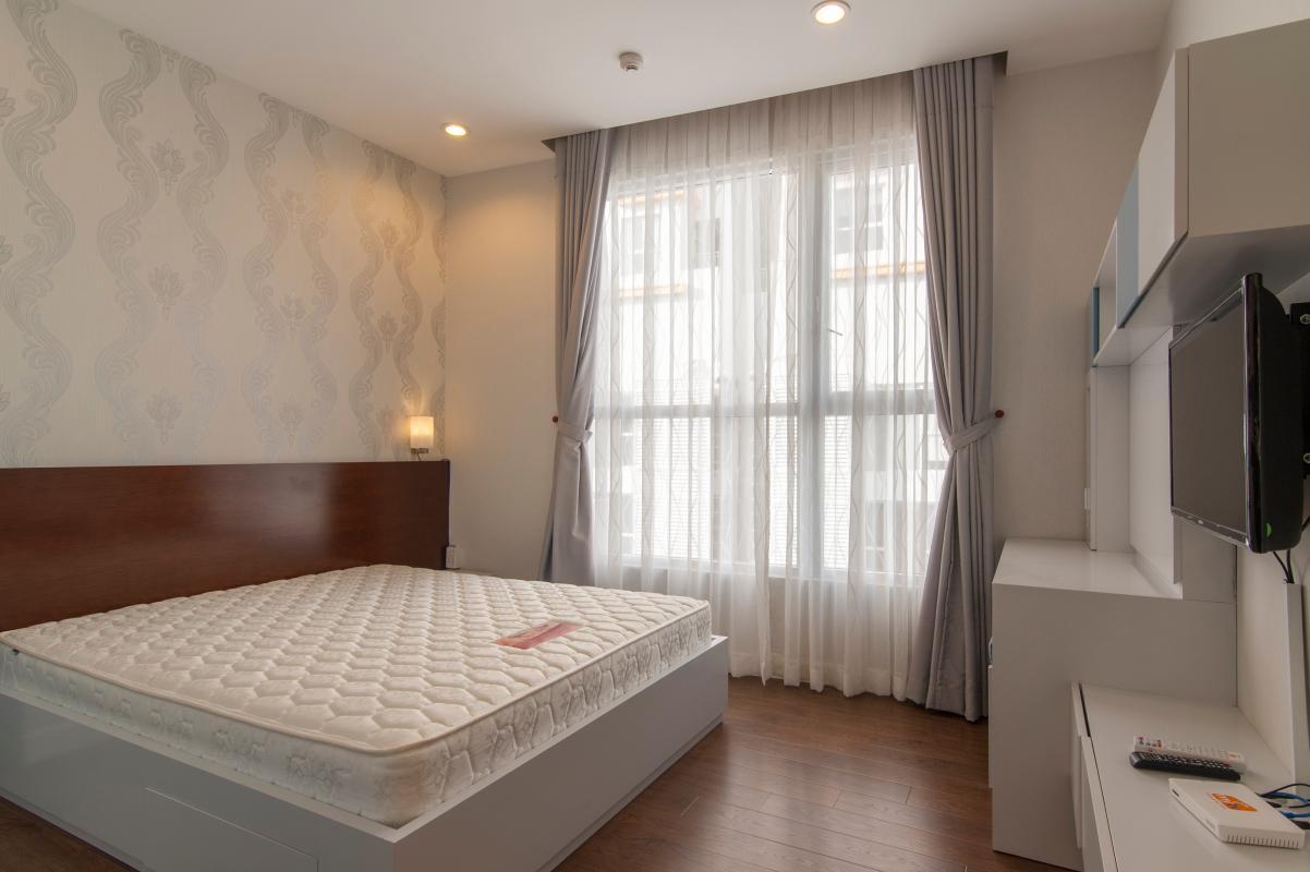 Phòng ngủ Căn hộ P2 Prince Residence 2PN đầy đủ nội thất