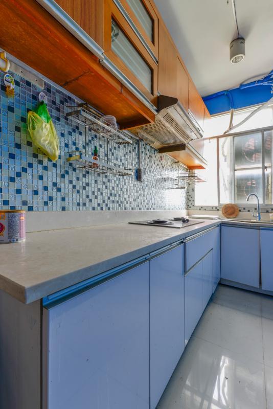 Phòng bếp Căn hộ 2 phòng ngủ tháp C Sacomreal Hòa Bình