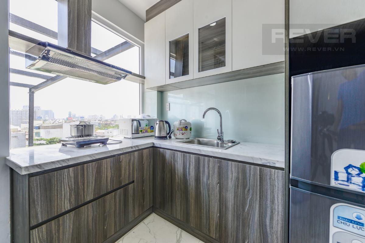 Phòng bếp M & T Building cho thuê phòng đủ nội thất, nhiều diện tích sử dụng