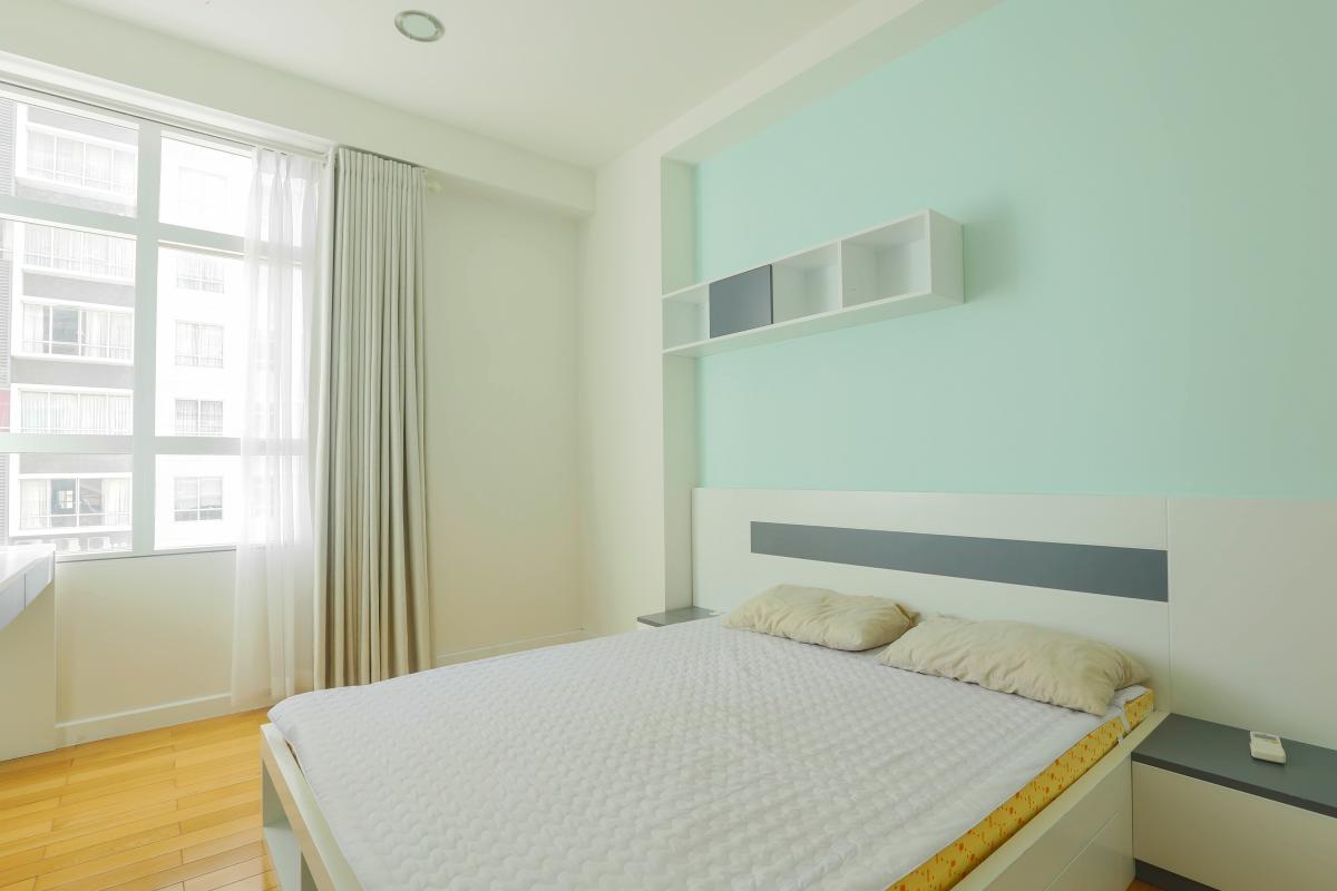 Phòng ngủ 2 Căn góc Sunrise City tầng cao tháp V4 hướng Tây Nam, 3 phòng ngủ
