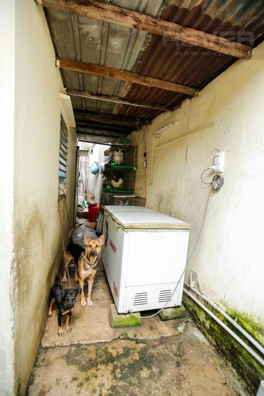 Khu vực bếp phía ngoài Nhà cấp 4 hẻm Phan Chu Trinh