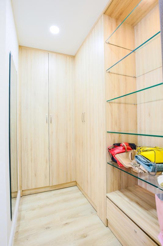 Hệ thống tủ để đồ Căn hộ Galaxy 9 tầng thấp G1 2 phòng ngủ, đủ nội thất