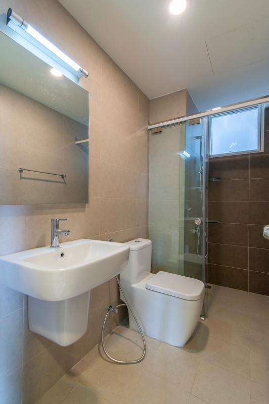 Phòng tắm Căn hộ tầng cao tháp LD Lexington Residence