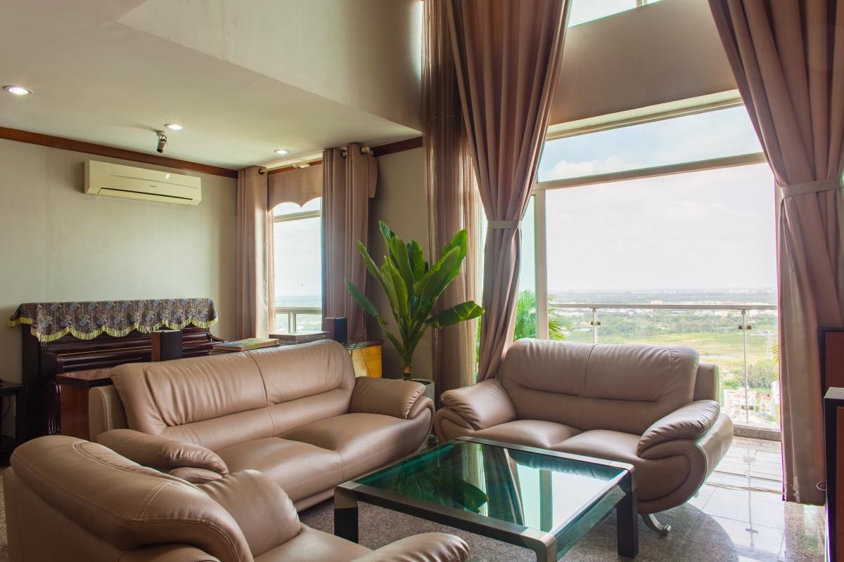 Penthouse 3 phòng ngủ D1 The New Saigon