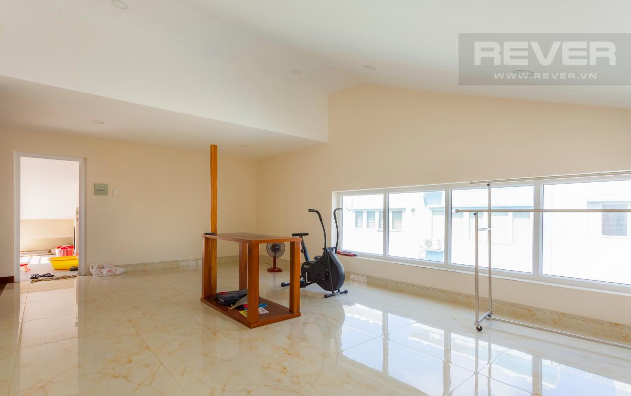 Phòng trống ở tầng trên cùng Villa 3 tầng Đường Số 14 Hoàng Quốc Việt