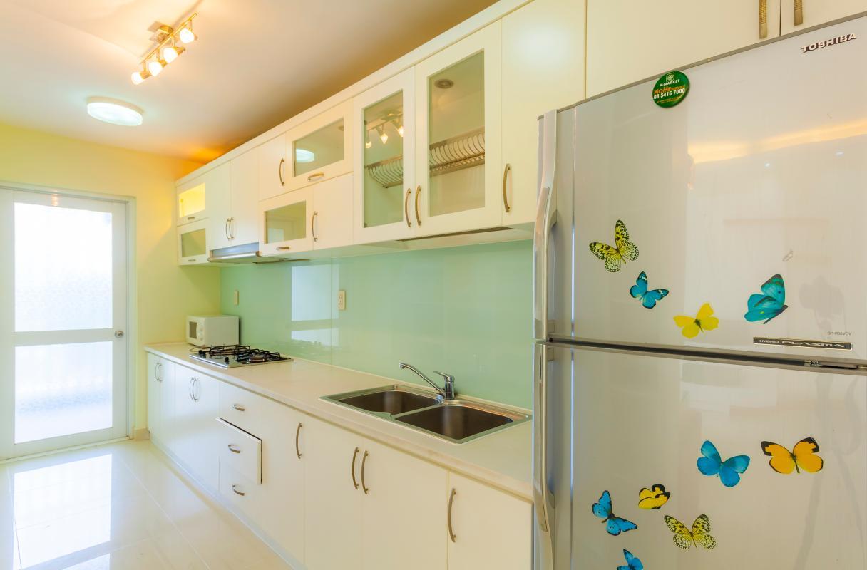 Hê thống tủ kệ bếp Căn hộ tầng thấp Riverpark Residence