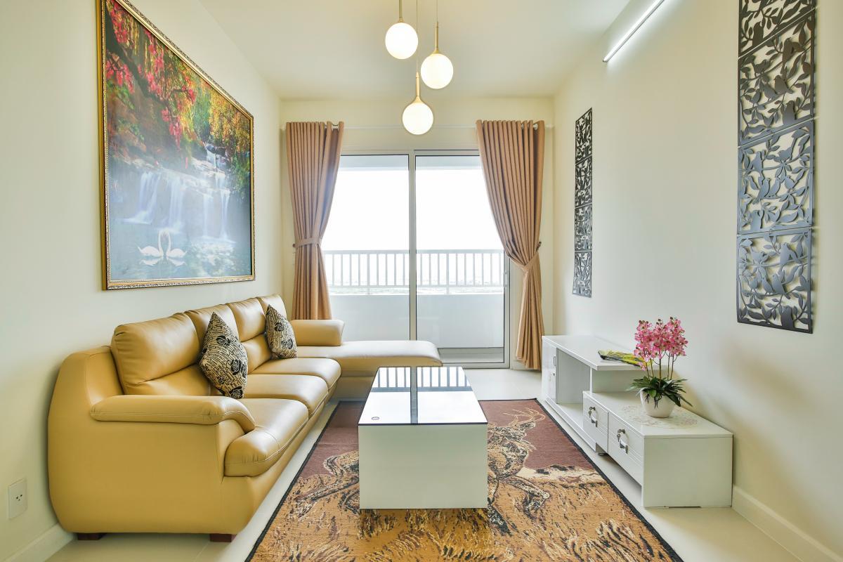 Phòng khách hướng Đông Căn hộ tầng cao LB Lexington Residence