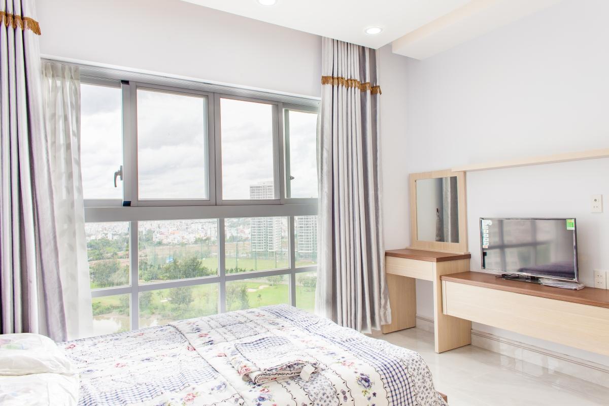 Phòng ngủ 2 Căn hộ tầng cao tháp H Happy Valley