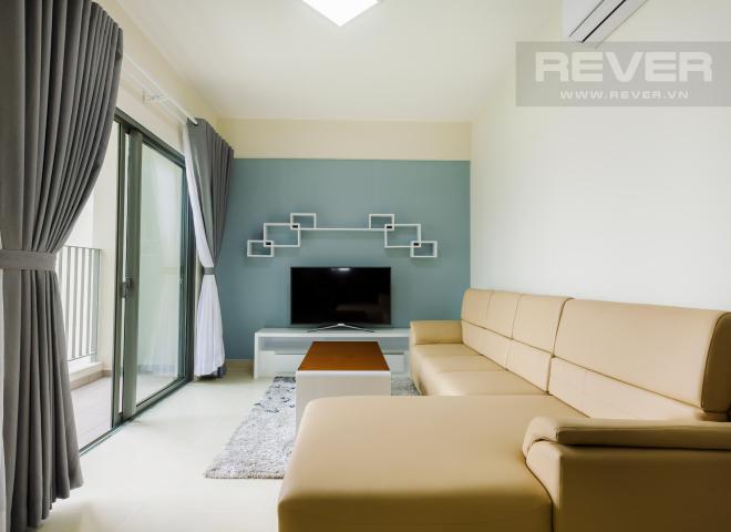 Căn góc 2 phòng ngủ tầng cao T2B Masteri Thảo Điền