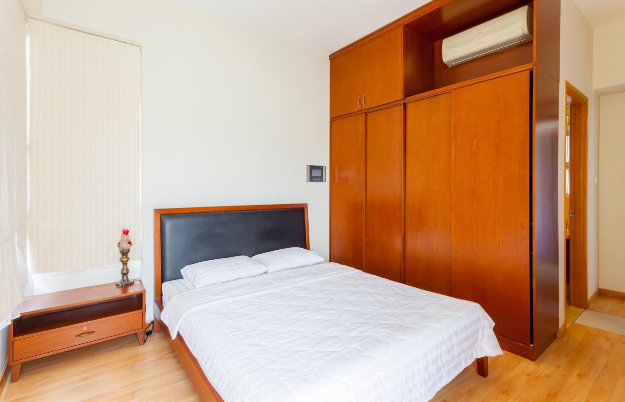 Phòng ngủ rộng rãi Căn hộ tầng cao Ruby 2 Sài Gòn Pearl