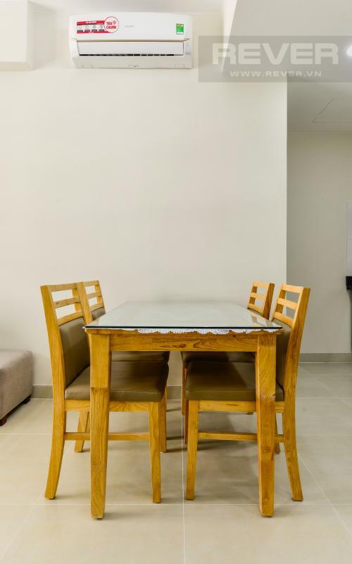 Phòng Ăn Căn hộ hướng Tây Nam 2 phòng ngủ tầng cao T4A Masteri Thảo Điền