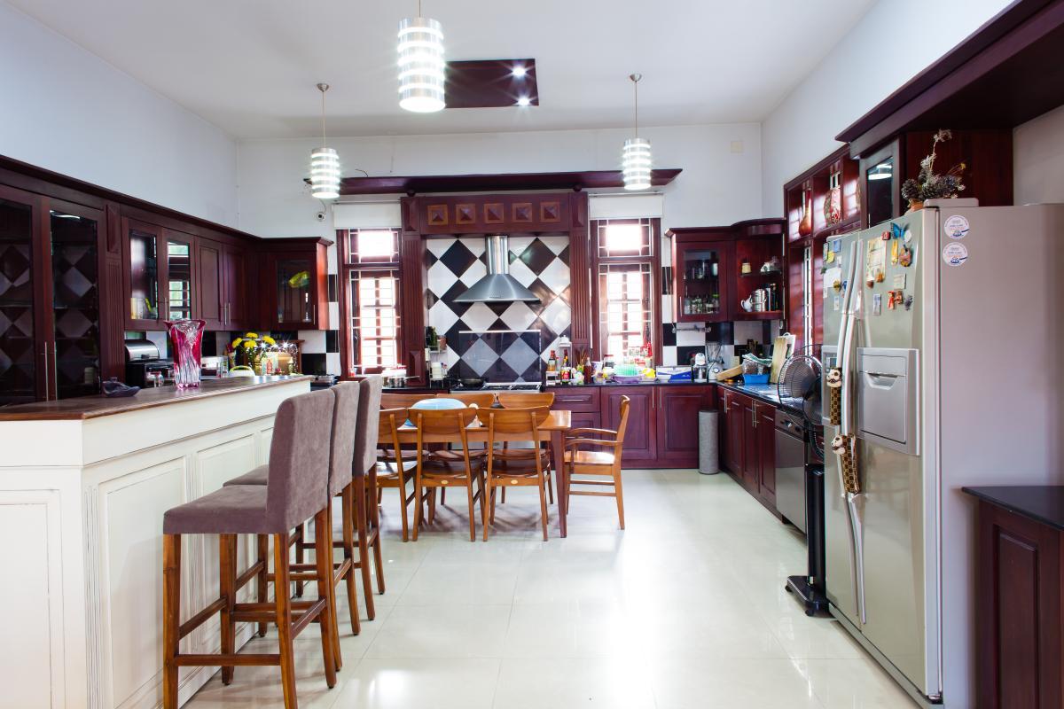 Phòng bếp Villa 3 tầng đường Số 20 Linh Đông Thủ Đức