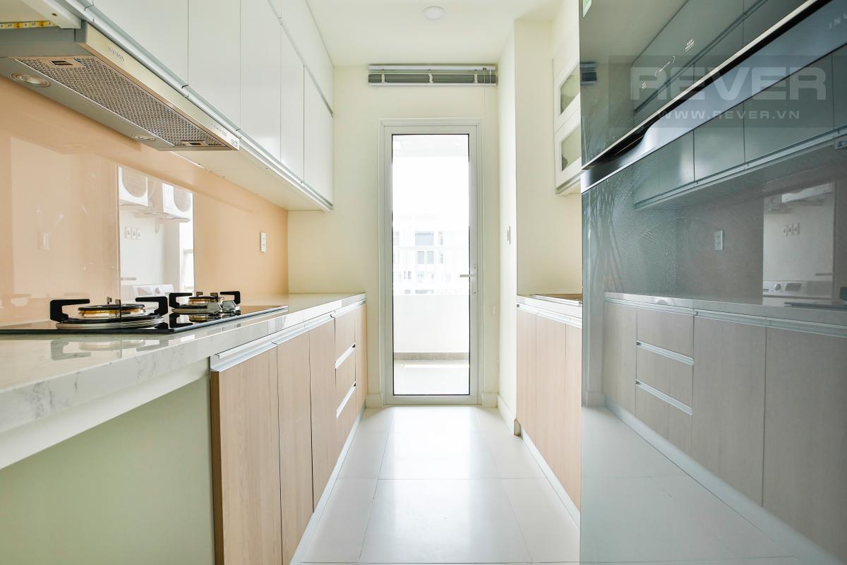 Phòng bếp rộng rãi Căn góc tầng cao hướng Tây Nam tháp LB Lexington Residence