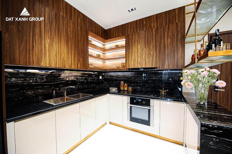Nhà mẫu Opal Skyline Căn hộ Opal Skyline tầng trung, nội thất cơ bản.