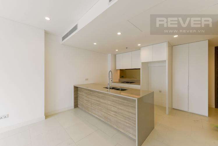 Phòng Bếp Cho thuê căn hộ City Garden 1 phòng ngủ, diện tích 65m2, tầng trung view mát mẻ