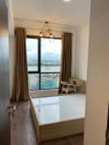 Phòng ngủ căn hộ One Verandah, Quận 2 Căn hộ chung cư One Verandah đủ nội thất tiện nghi, view thành phố.