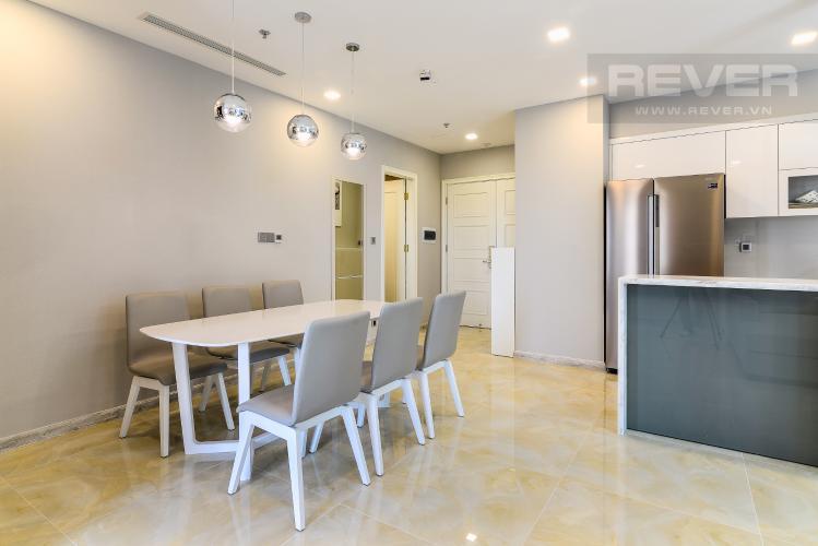 Phòng Ăn & Bếp Căn hộ Vinhomes Golden River tầng thấp tòa Aqua4 tầng thấp 3 phòng ngủ view sông