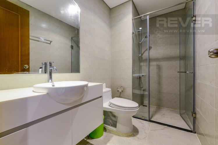 Phòng tắm 1 Căn hộ Vinhomes Central Park tầng thấp tòa Landmark 3, 2 phòng ngủ, full nội thất