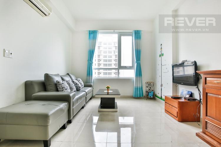 Phòng Khách Căn góc CBD Premium Home 3 phòng ngủ tầng trung tòa Happy
