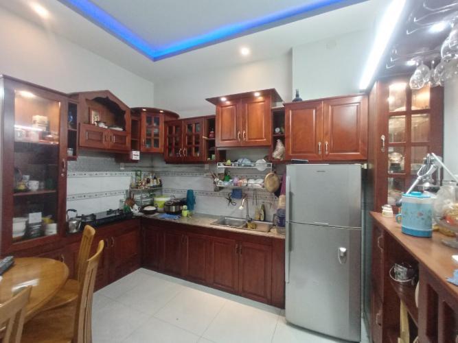 Phòng bếp nhà phố Lưu Hữu Phước, Quận 8 Nhà phố hẻm hướng Đông Nam, diện tích 57.1m2, sổ hồng riêng.