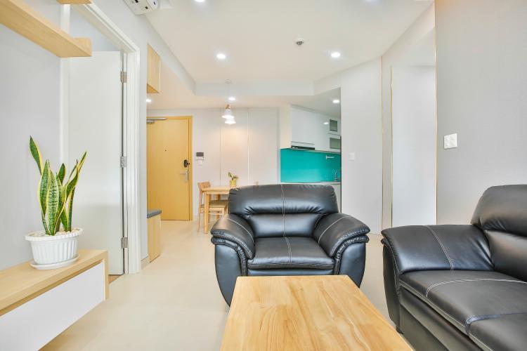 Phòng Khách Căn hộ Masteri Thảo Điền tầng cao T5 mới giao nhà, nội thất đầy đủ