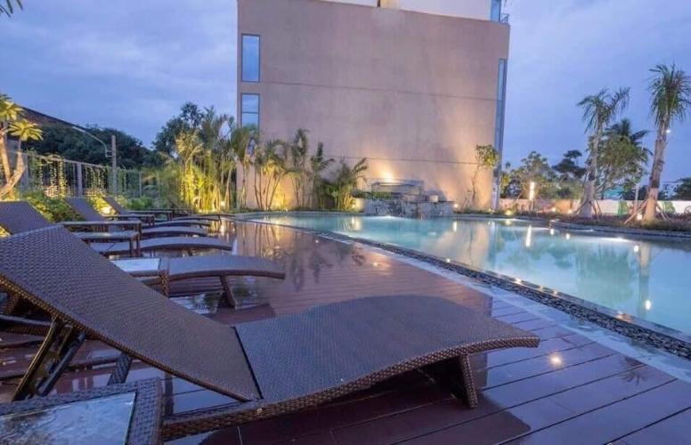 Hồ bơi Diamond Lotus, Quận 8 Căn hộ Diamond Lotus view thành phố, đầy đủ nội thất.