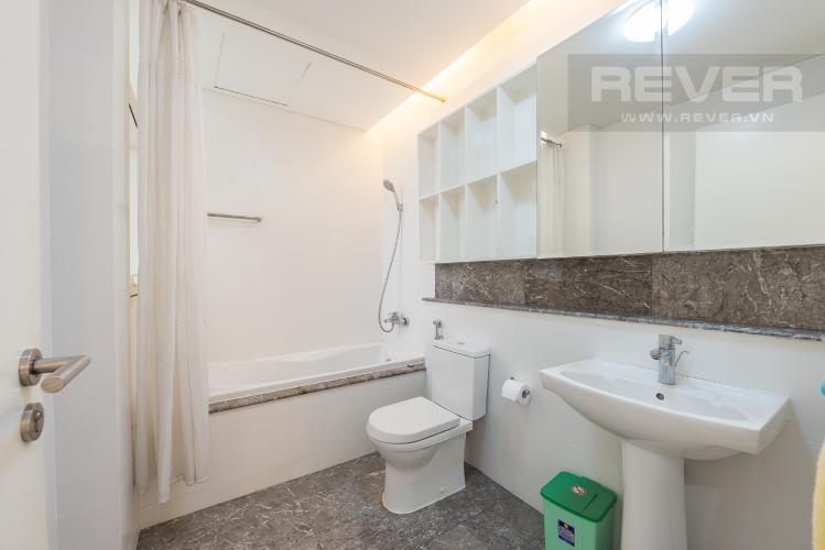 Phòng tắm 1 Căn hộ The Estella Residence 2 phòng ngủ tầng thấp 3B hướng Bắc