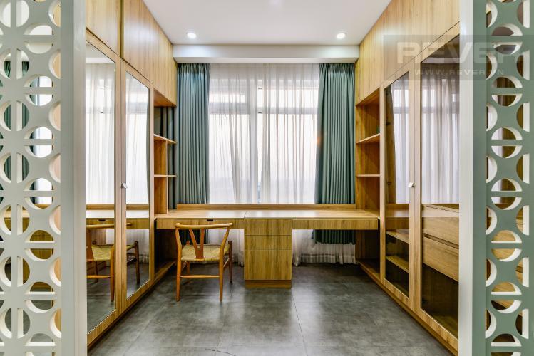 Phòng Làm Việc (PN 1) Penthouse Saigon Pearl tháp Sapphire diện tích 221m2 full nội thất