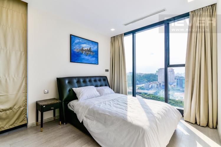 Phòng Ngủ 2 Căn hộ Vinhomes Golden River 3 phòng ngủ tầng trung A4 hướng Tây Nam