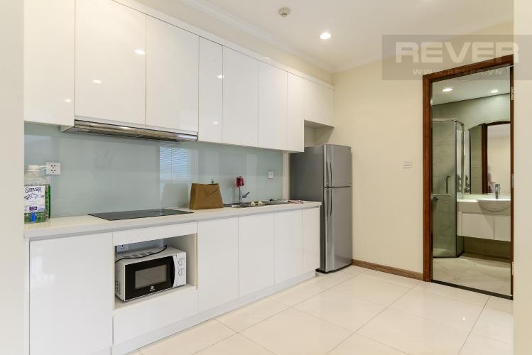 Bếp Cho thuê căn hộ Vinhomes Central Park 1PN, đầy đủ nội thất, view mé sông Sài Gòn