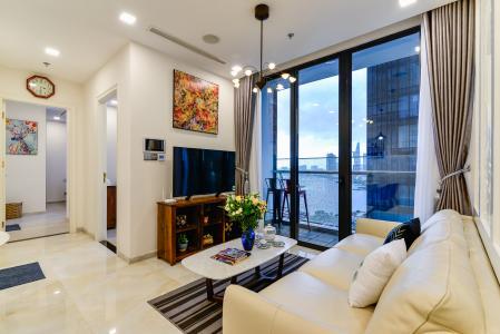 Cho thuê căn hộ Vinhomes Golden River 2PN đầy đủ nội thất, view sông Sài Gòn